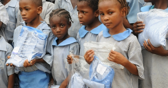 Donation of School Uniform